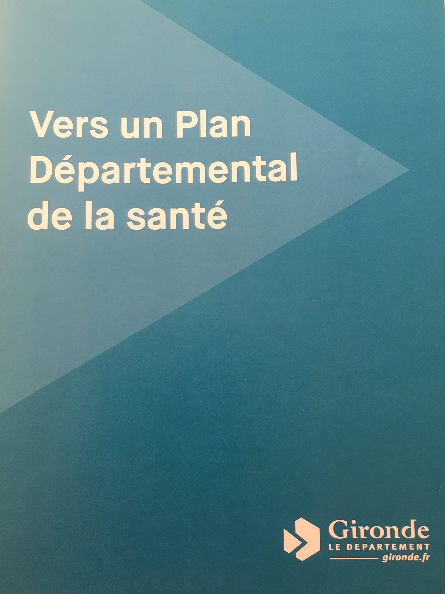 Plan départemental de santé