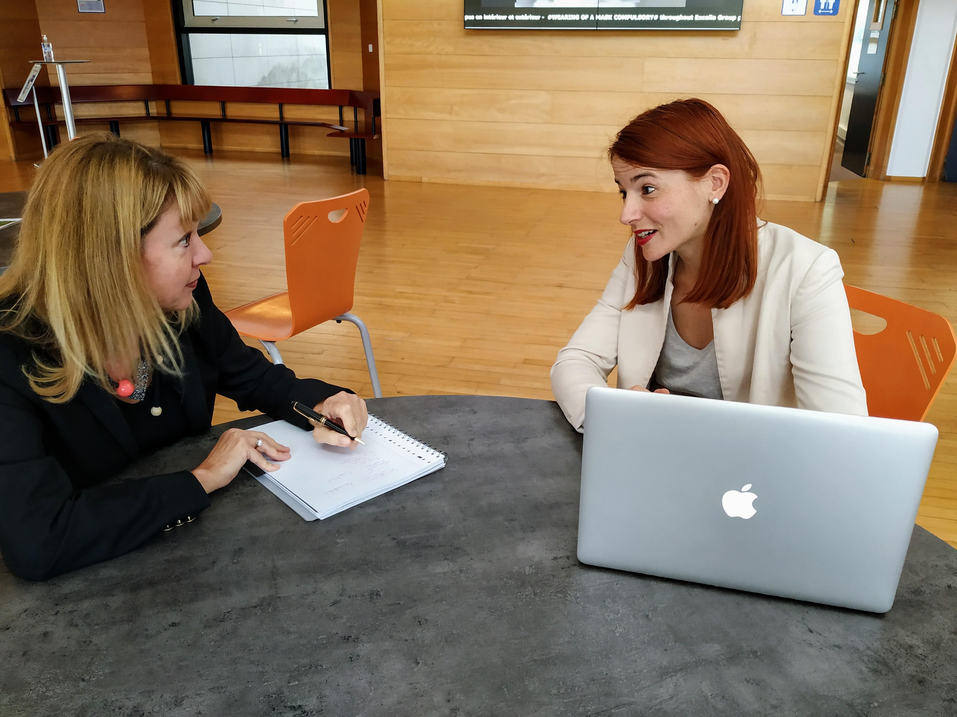 interview et rédaction
