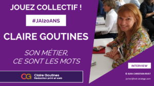 interview video Claire Goutines